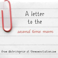 letter the second time mom initiative end sweating amp daughter thankful