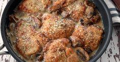 Savory mushroom Asiago chicken - CherylStyle