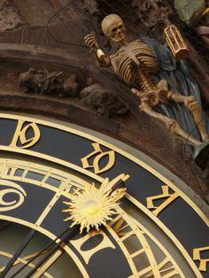 Clock Tower Detail Prague Old Town Square