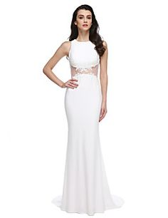 2017 TS Couture® Formal Evening Dress Trumpet   Mermaid Jewel Sweep   Brush  Train Jersey · Cheap Evening DressesDresses For ... 9bea703f8b6c