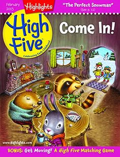 Highlights High Five, 2008 Parents' Choice Award Recommended Award - Magazine High Five Magazine, Cool Magazine, Parenting Plan, Parenting Classes, Parenting Quotes, Highlights Magazine, Parents Choice, National Geographic Kids, Hidden Pictures