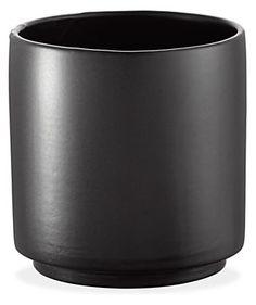 Shore Round Modern Planters - Modern Vases & Decorative - Modern Home Accessories - Room & Board