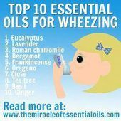 not as bad as asthma, wheezing can cause breathing difficulties and affect the quality of your life. Discover how essential oils for wheezing can help clear your airways and promote easier breathing. Essential Oil For Pneumonia, Essential Oils For Asthma, Essential Oil Uses, Asthma Relief, Stress Relief, Young Living Oils, Young Living Essential Oils, Natural Asthma Remedies, Essential Oils