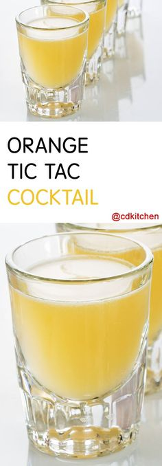 orange tic tac recipe is made with ice vodka sour mix