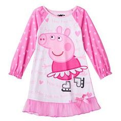 Peppa Pig Skating Nightgown - Toddler Girl