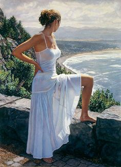 Steve Hanks. Hard to believe this is a painting, a watercolor no less.