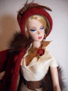 *Wool and Mink* Barbie Silkstone FR Repro Vintage Fashion Handmade OOAK Mary   Dolls & Bears, Dolls, Barbie Contemporary (1973-Now)   eBay!