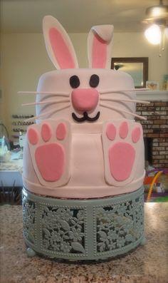 Easter Bunny Spring cake by Sarah Telloian
