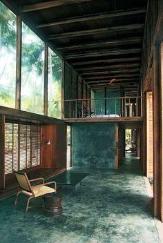 PALMYRA HOUSE • 2007 • Maharashtra, India • Studio Mumbai, http://www.studiomumbai.com