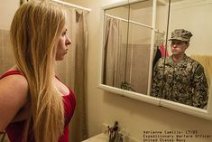 """Powerful Photos Reveal The Real People Behind The Military Uniforms -  """"The Veteran Art Project"""" by Devin Mitchell"""