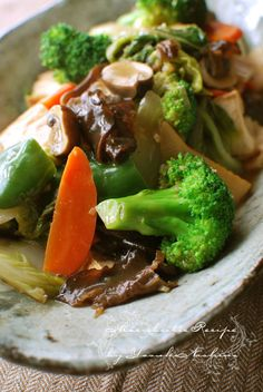 Happosai, Eight Treasure Stir-Fry Vegetables as Japanese Home Dish (Frendly for Vegan / Macrobiotic)|八宝菜