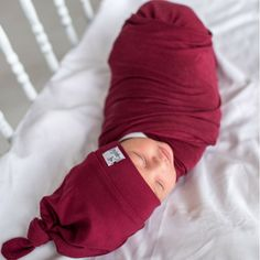 Ruby Knit Swaddle Bl
