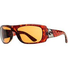 "Costa Del Mar Sunglasses - Bonita- Plastic / Frame: Tortoise Lens: Polarized Amber 580P Polycarbonate Costa Del Mar. $118.27. 2.00"" high. polarized. Lens: Polarized Polycarbonate. Size: 62 mm x 18 mm x 125 mm. Style: Rectangular. Gender: Female. Frame: Plastic"