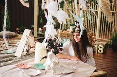 Bohemian/Gypsy Birthday Party Ideas | Photo 8 of 31 | Catch My Party