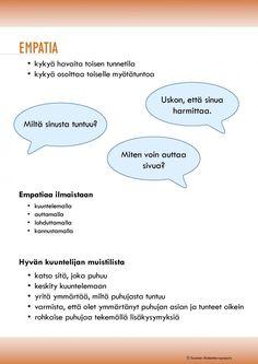 Kaveritaidot - empatiaa oppimaan | Suomen Mielenterveysseura