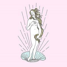 """""""Venus Pop"""" do incrível @astronaut_arc  #movidoapessoasincriveis #artetododia"""