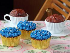 Cupcakes de chocolate, Receta para Lasrecetasdemasero - Petitchef