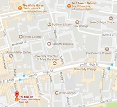 Inspector Morse Pub Crawl. (Including downloadable PDFs of Pub Locations) – Morse, Lewis and Endeavour