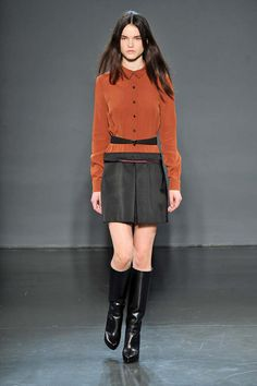 Victoria by Victoria Beckham | Nova York | Inverno 2014 - Vogue | Fashion weeks