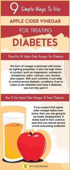 From the shelves of supermarkets, apple cider vinegar (ACV) is making its way into the households as an effective remedy for various diseases. Not only is ACV used for cooking but is also used as a remedy for diabetes, which is backed by scientific research and testimonials. How to use apple cider vinegar for diabetes? Before delving into it, let's check out the wonderful benefits it is blessed with.