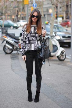 Style Paws - Fashion Vibe - Geometric pattern top