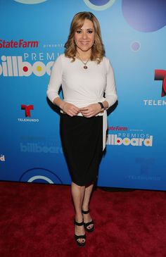 Ana Maria Canseco Ana Maria Canseco attends 2014 Billboard Latin Music Awards Press Conference to announce finalists at Gibson Miami Showroo...