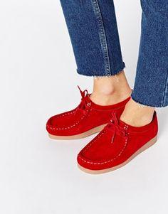 3c77e452de3 Blink Lace Up Suede Flat Shoes Womens Boots On Sale