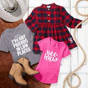 Take a look at the The Western Spirit | Baby to Big Kids event on #zulily today! This one might get me in trouble lol