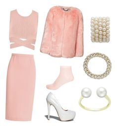 """""""Chanel#2 look from Scream Queens"""" by cheriberri31 on Polyvore featuring Jonathan Simkhai, Roland Mouret, Qupid and River Island"""