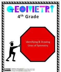This lesson explores identifying lines of symmetry and drawing lines of symmetry and is directly aligned with 4th grade Common Core Standards.  The lesson includes a read aloud, art activity, worksheet with key, and alphabet symmetry activity.  This is one lesson that is part of the 4th Grade Geometry Unit but it can be taught as an individual lesson.Link-4th Grade Geometry UnitHere are some other great intermediate resources to check out:Link-4th Grade Geometry AssessmentLink-5th Grade…