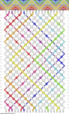 1000+ images about DIY: Friendship Bracelet Patterns on Pinterest Friendship bracelets ...