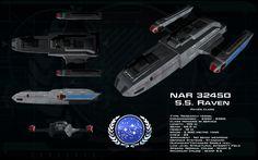 Raven class ortho - SS Raven by unusualsuspex.deviantart.com on @deviantART