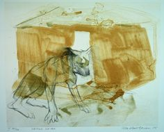 Ulla Rantanen, Kenian koira 2005, litografia