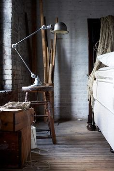 A) Industrial rustic;  2) It's awesome.