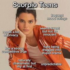 Scorpio Funny, Scorpio And Libra, Scorpio Zodiac Facts, Zodiac Signs Astrology, Zodiac Memes, Zodiac Quotes, Zodiac Signs Chart, Zodiac Sign Traits, Zodiac Star Signs