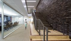 Tenant improvements for international premium wine company, Constellation Brands' new San Francisco office. In addition to construction, design assist services were provided by BCCI for some of the architectural elements including a new structural steel interconnecting stair with exposed metal and concrete treads.