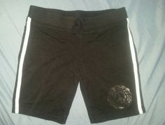 6/7 6X 6 Girls Running Shorts Soft Black & White  #DANSKINNOW #Everyday