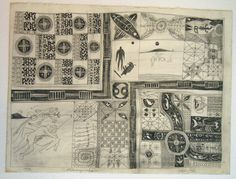 John Pule, Auckland, New Zealand. Fahimagaaho, 1995 pencil on paper 770 x 860 mm New Zealand Art, Auckland, Printmaking, Primitive, Mixed Media, Illustration Art, Pencil, Rug, African