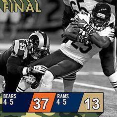 @Regrann from @nfl -  Da Bears! #CHIvsSTL : Tom Gannan/AP #Regrann