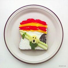 Con la comida no se juega, ¿o sí? / artroomtalent.com