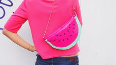 diy watermelon bag