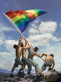 gay president libertinage à la plage