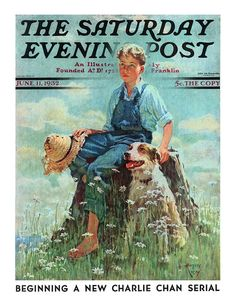 Saturday Evening Post [1932-06-11] cover | by Eugene Iverd