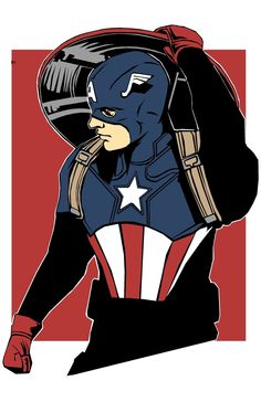 BuckyCap by Barbicane on Etsy Comic Movies, Comic Book Characters, Marvel Characters, Comic Books Art, Marvel Comic Universe, Comics Universe, Bucky Barnes Marvel, Marvel Concept Art, Serie Marvel