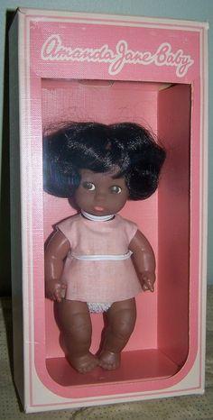 "VINTAGE AMANDA JANE BABY DOLL IN ORIGINAL BOX - 6""    eBay"