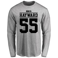 Adam Hayward Player Issued Long Sleeve T-Shirt - Ash