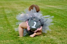 Toddler Baby Girl One Year Old Birthday Outfit by unRaveledCrochet