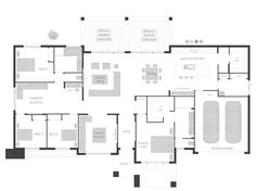 Esperance Grande - Floor plan Dream House Plans, House Floor Plans, Dream Houses, Good House, My House, Mcdonald Jones Homes, House Construction Plan, House Blueprints, Home Design Plans