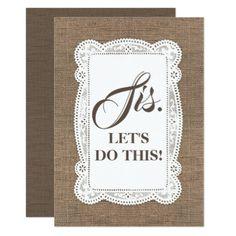 Rustic Country Bridesmaid / Maid of Honor Proposal Card - will you be my bridesmaid gifts  wedding bride bridal