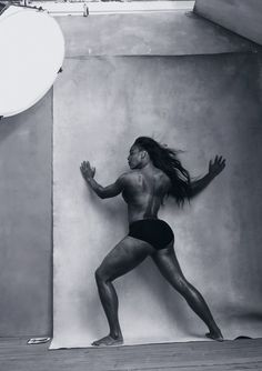 Serena Williams proves strong=sexy in the 2016 Pirelli calendar